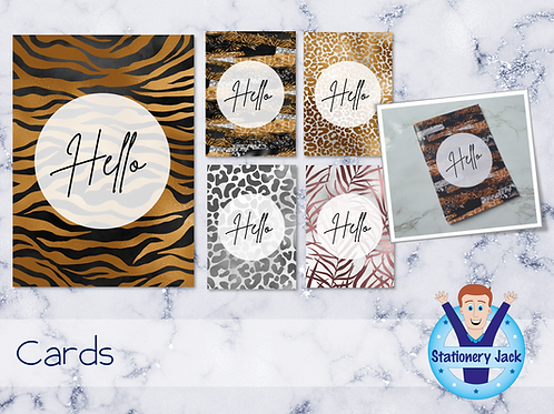 Luxury Safari Cards