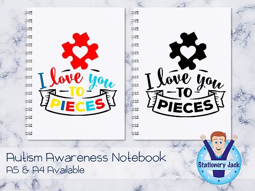 I Love You to Pieces Notebook