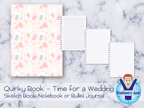Quirky Book - Time for a Wedding