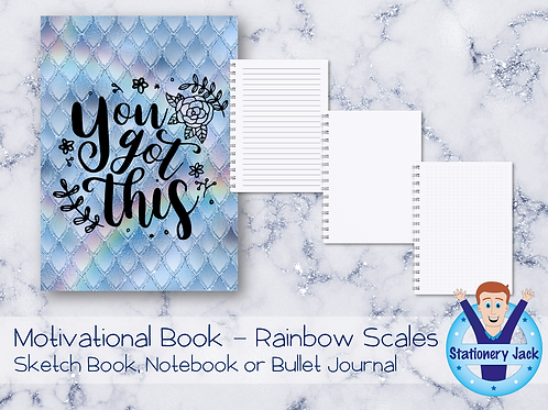 Motivational Book - Rainbow Scales