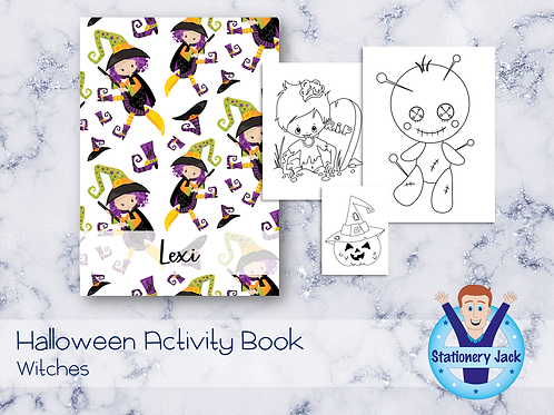 Witches Activity Book