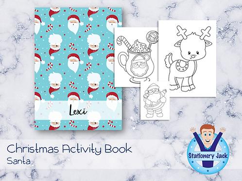 Santa Activity Book