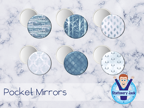 Glacier Pocket Mirror
