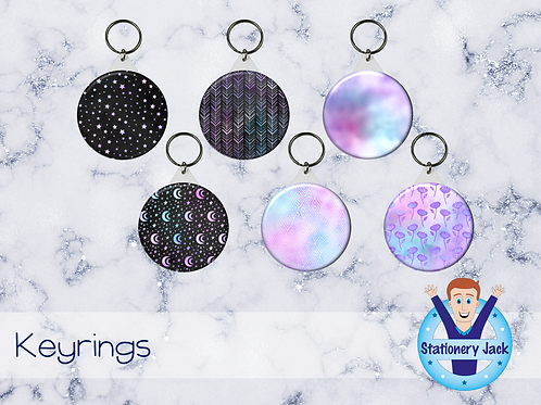 Holo Night Keyring