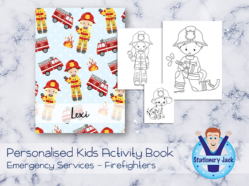Firefighters Activity Book