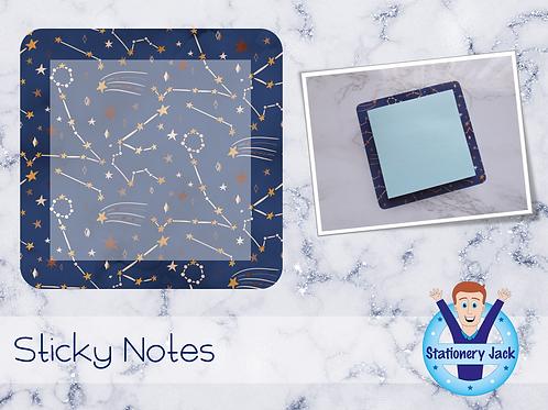 Boho Celestial Sticky Notes