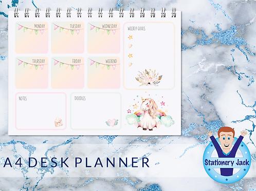 A4 Desk Planner