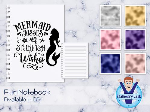 Mermaid Kisses Notebook