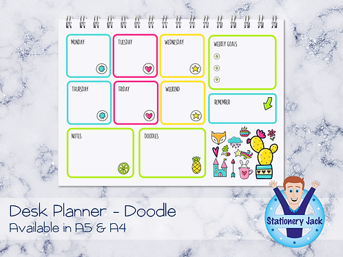 Doodle Desk Planner