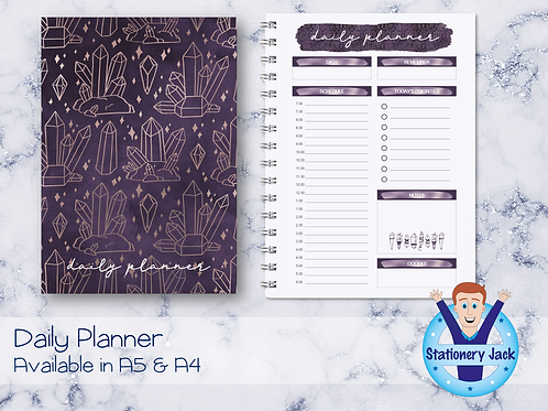 Amethyst Daily Planner