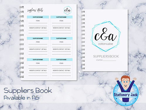 Suppliers Book