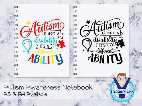 Just a Different Ability Notebook