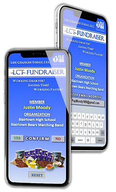 LCT APP drives the LCT FUNDRAISER