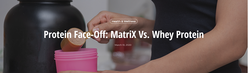 Matrix face off vs Whey Protein - LCT FUNDRAISER