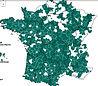Carte GAL français