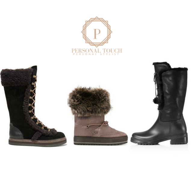Let it Snow in Stylish Winter Snow Boots!