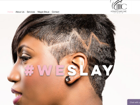 Web Design Spotlight: Honeys Hair Care
