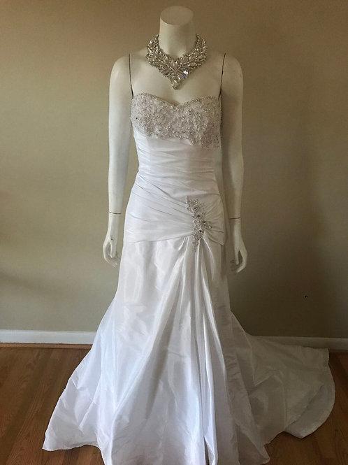 Maggie Sottero White Wedding Dress