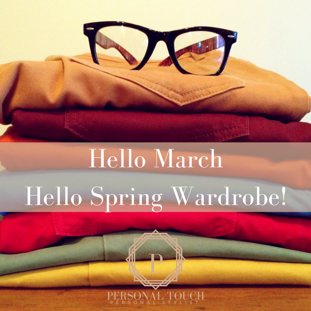 Hello March! Hello #ClosetGoals