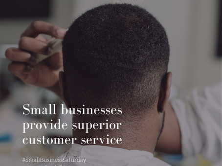 Small Business Saturday: Reason No. 1 to Shop Small