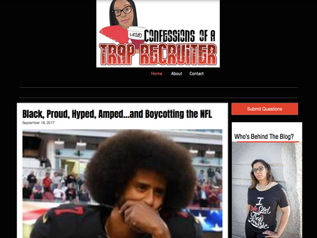 Web Design Spotlight: Traprecruiter Blog