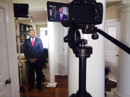 BTS: TV Commercial for Congressional Candidate Warren Christopher