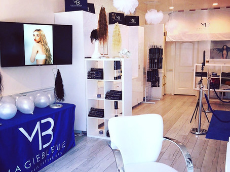 Magie Bleue Hair Beverly Hills Pop Up Shop