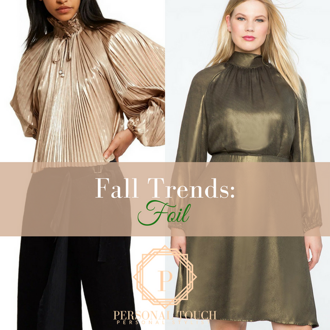 Fall Trends: Shiny Metallic