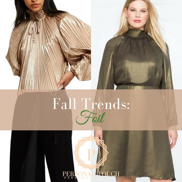 Fall Trends: Shiny Metallic
