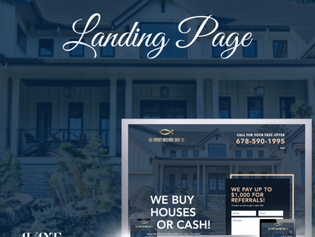 New! Landing Page Design