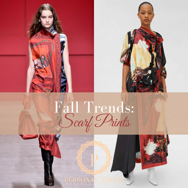 Fall Style: Silk Foulards