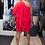 Thumbnail: Aidan Red One-Shoulder Cocktail Dress