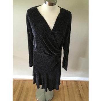 Michael Kors Black Long Sleeves Sequin Material (Lightweight)