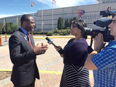BTS: Media Tour with Maryland Congressional Candidate Warren Christopher