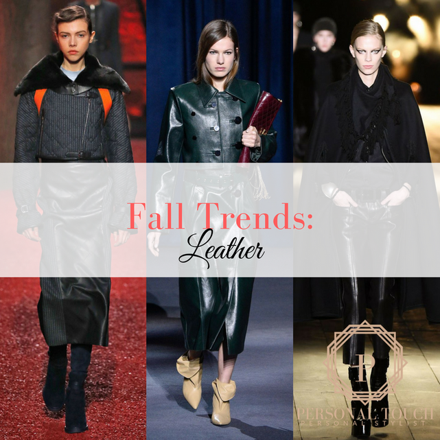 Fall Trends: Leather