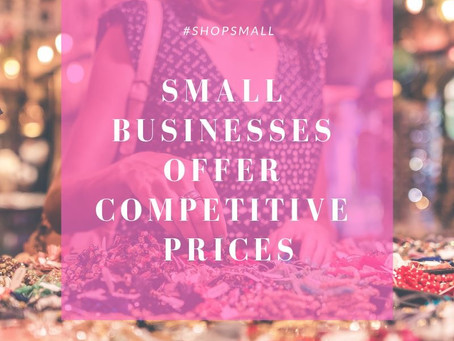 Small Business Saturday: Reason No. 5 to Shop Small