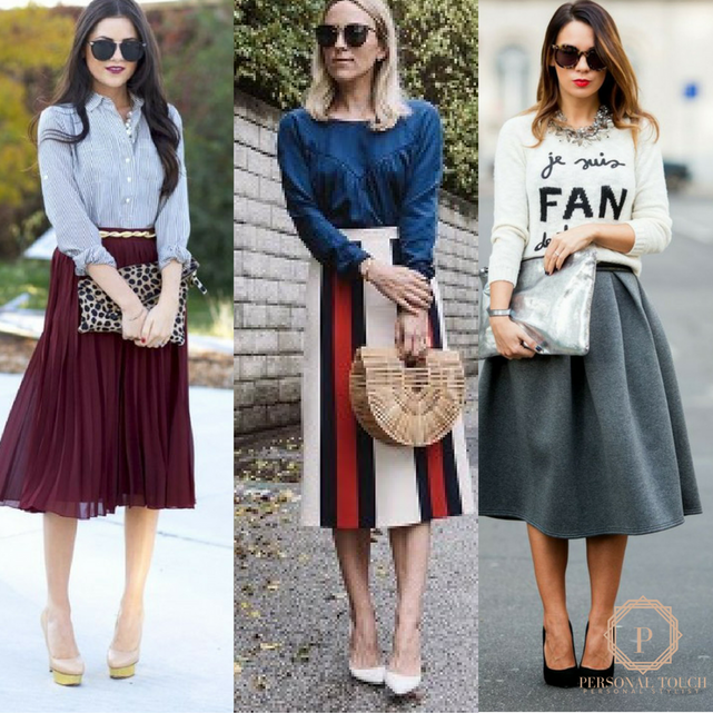 Fall Style Guide: Skirts Hemmed at the Calf