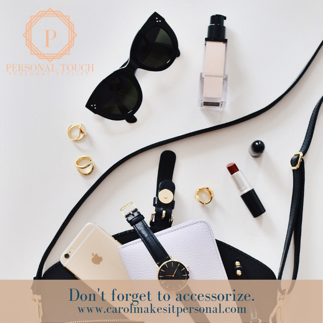 Tip of the Day: Don't Forget to Accessorize