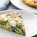 Spinach Gruyere & Leek Frittata