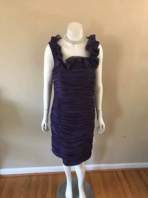 Bari Jay Purple Cocktail Dress