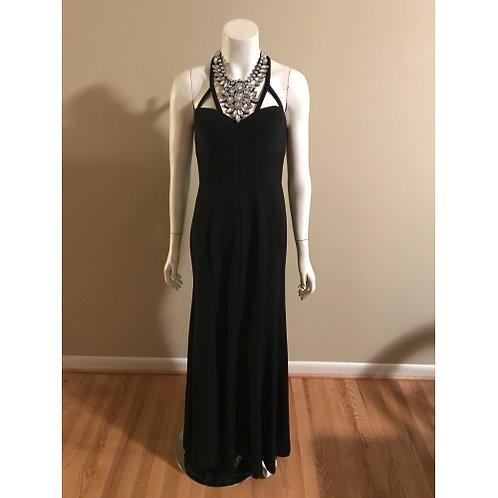 Vera Wang Long Black Formal Wear Gown