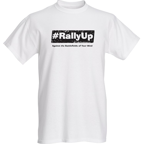 #RallyUp T-Shirt (Black & White)