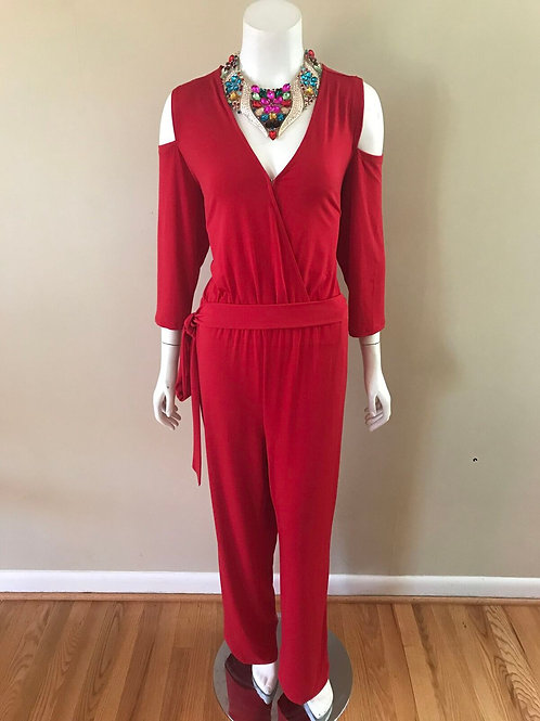 Collection Red Jumpsuit