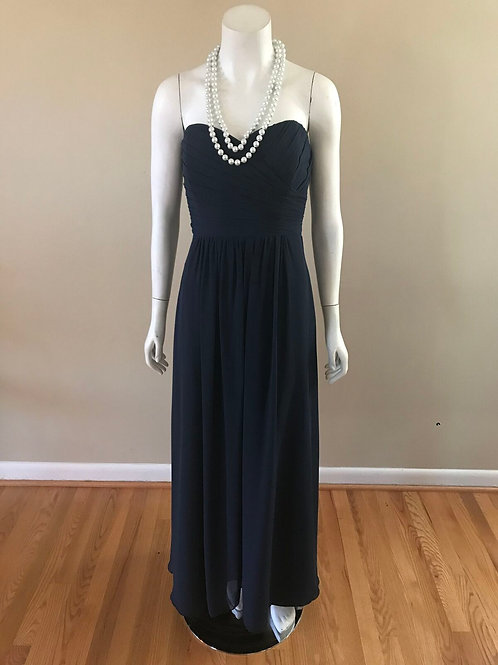Jasmine Navy Blue Long Gown