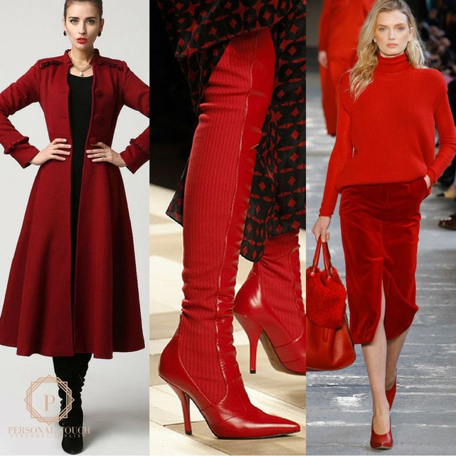 Fall Style Guide: Power Red