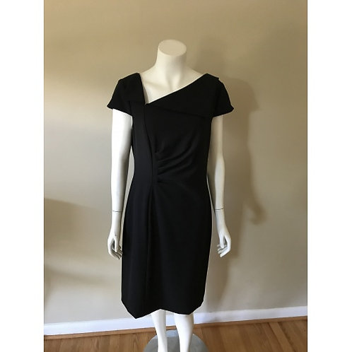 Tahari Short Black Dress