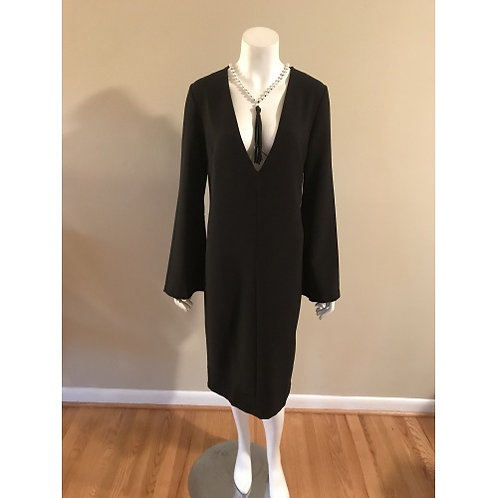 Forever 21 Black Short Cocktail Dress with Bell Sleeves