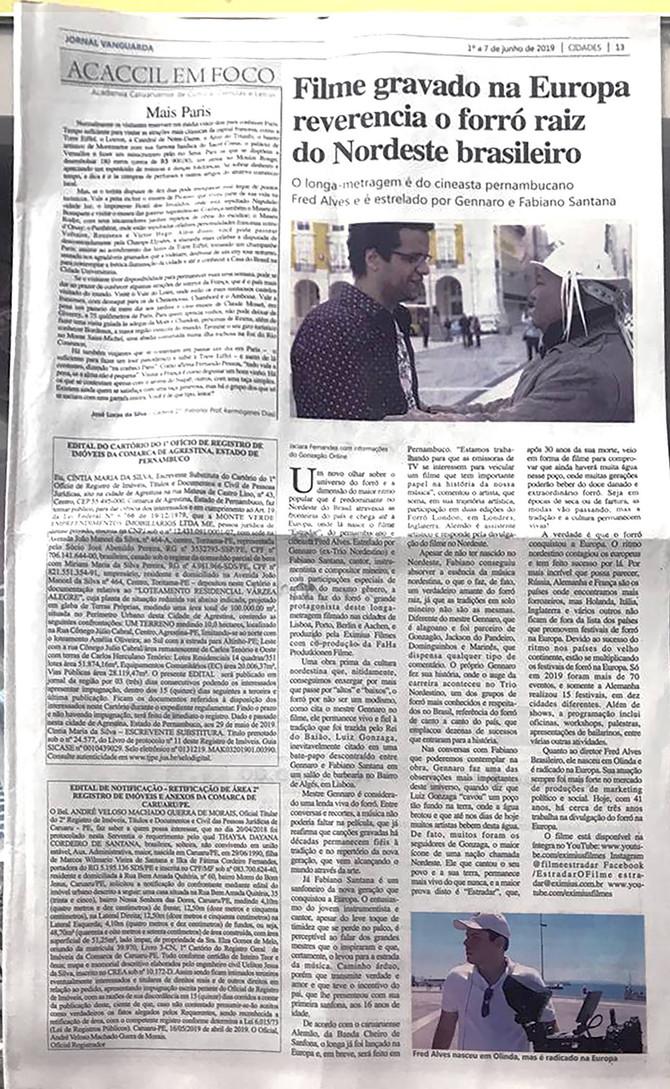 """Lançamento do filme """"Estradar"""" pela UEPB"""