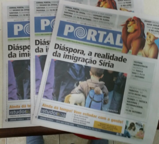Diaspora de Fred Alves ganha as páginas dos jornais