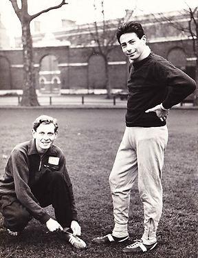 1958 Jan, Davies, John at Duke of Yorks